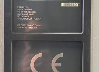 DECKEL MAHO DMU 60 P P01204145