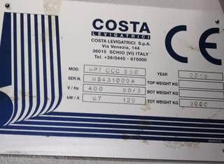 Costa Levigatrici MP7 – CCC 550 P01209044