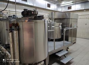 Míchadlo tekutin Fryma VME-500/C