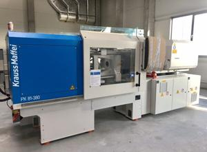 Krauss Maffei KM 81-380 PX Injection moulding machine
