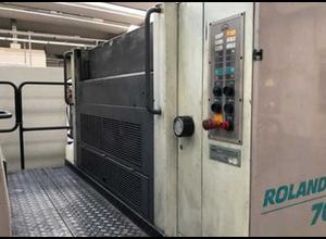 Man Roland R 704 P 4 Farben Offsetdruckmaschine