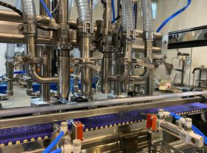 New packaging line for cosmetic creams built in 316 stainless steel