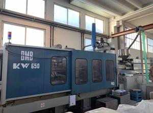 Used BMB KW 650/5500 Injection moulding machine