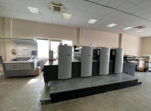 Heidelberg SM 74 - 4 DS 4 Farben Offsetdruckmaschine