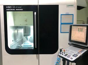 Deckel Maho HSC 55 Linear Bearbeitungszentrum Vertikal