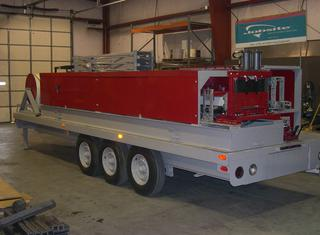 MIC ABM 120 Arch Building Machine and trailer P01222013