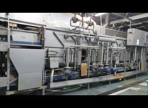 Machine de découpe, lavage et blanchiment de fruits et légumes Cabinplant IBC 408
