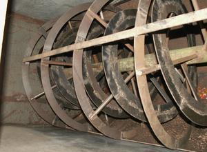 Steel ribbon mixer 500L Порошковый блендер