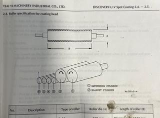 DISCOVERY 40 U.V. Spot Coating P00902030