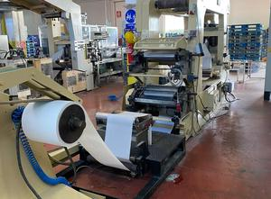 Overhauled and functional  Omet 504tv for the production of napkins