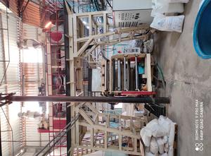 Three Layer Co-Extrusion Downward-Blowing Water-Cooling Blown Film Line