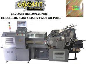 Troqueladora CAVOMIT NEW MODEL