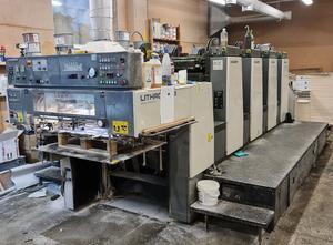 Komori Lithrone 28 4 Farben Offsetdruckmaschine