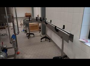 Machine pour la production de vin, bière ou alcool Schwatec Kunststoff- Scharnierkettenförderer