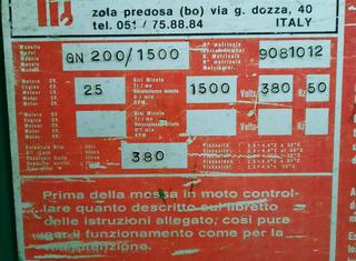 Gigant GN200/1500 P10107115
