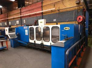 AXA X: 3000 - Y: 1500 - Z: 400 mm cnc vertical milling machine
