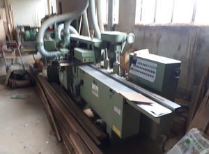 WEINIG U17A Gebrauchte Mehrkopf-Kehlmaschine