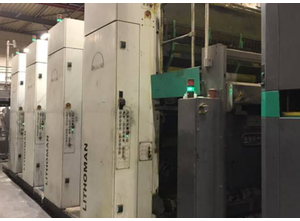 manroland Lithoman IV Ротационная печатная машина