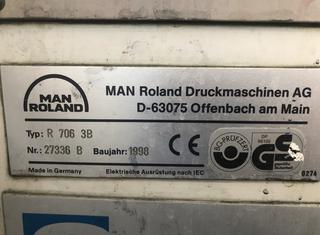 MAN ROLAND R706 P10114058