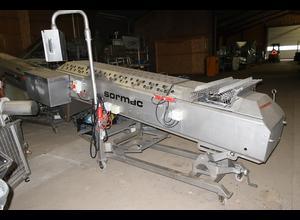 Machine de découpe, lavage et blanchiment de fruits et légumes Sormac WOS-1A