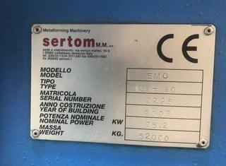 Sertom EMO 15-60 - 1500 x 60/50 mm P10120013