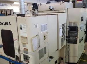 Centrum obróbcze poziome Okuma MX 40 HB