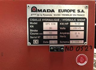 Amada GPS 1230 P10126024