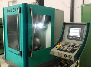 DMG DMU 35 M cnc vertical milling machine