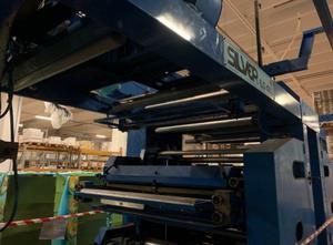 Uteco 4 colour flexo stack printing machine Label printing machine