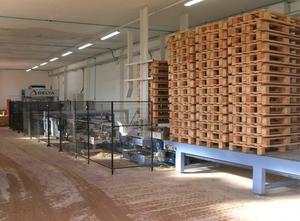Máquina de carpintería Delta Pallet line