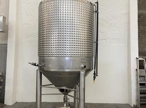 Zbiornik Azzini S/S mixing jacketed tank 5000 L – YSTRAL agitator