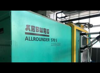 Arburg 570 S 2200-290/100 P10129009