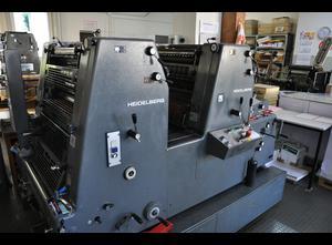 Heidelberg GTO ZP 52 + Offsetdruckmaschine 2 Farben