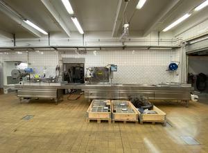 Tvarování termoplastů - Tvarující, plnící a  uzavírací linka Multivac R-530 MC