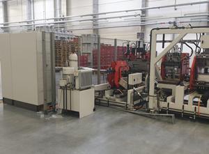 Máquina para deformación de chapa Wemo Line for the production of sheet metal parts