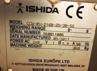 Ishida CCW RV 216 B-80/30- SS P01002055