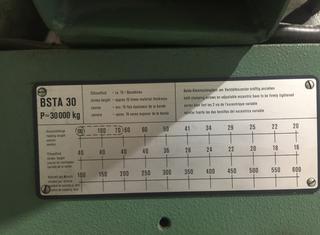 BRUDERER BSTA 30 P10201029