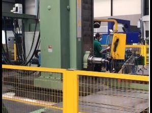 Alesatrice  a montante fisso CNC usato Lazzati HB130 T