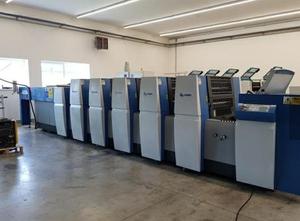 KBA Rapida 75E - 4+L 4 Farben Offsetdruckmaschine