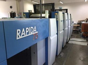KBA Rapida 75-4 4 Farben Offsetdruckmaschine