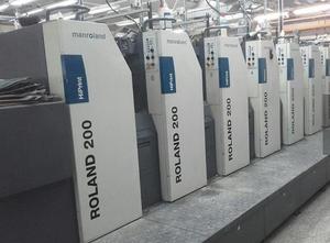 Roland 205 + L HiPrint Offsetdruckmaschine 6 Farben
