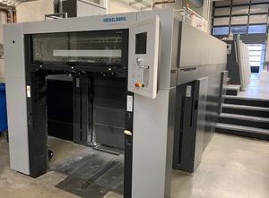 Heidelberg XL 106-4 + LX 4 Farben Offsetdruckmaschine