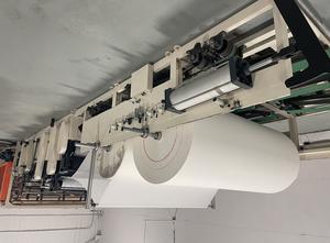 CHUANGDA MACHINERY CDH-1575-YD-H toilet paper line Rollenschneidmaschine