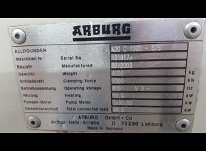 Arburg 420 C 1300 675 Spritzgießmaschine
