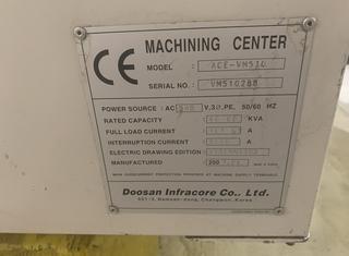 Doosan Ace VM 510 P10210289