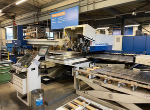 Trumpf TC 600 - 1300 FMC Combining machine laser / punch