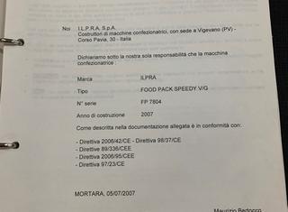 ILPRA Speedy V/G P210211004