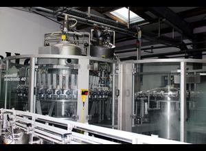 KHS / Langguth / Meypack / Filtec / Comac / SFT Multipack / KUKA Filling machine for PET bottles Abfüllmaschine - Abfüllanlage
