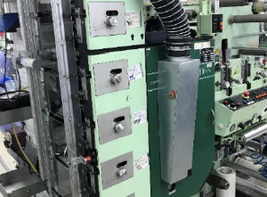 Edale E 250 4C Label printing machine