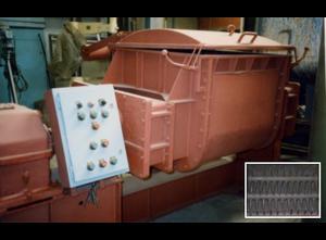 Mezcladora de polvo Horizontal spike mixer -